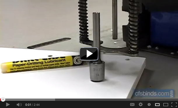 Click to watch the video on drill bit care