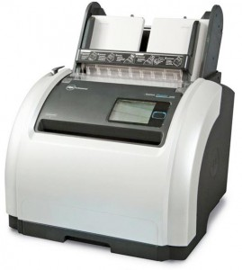The GBC ProClick Pronto P2000 automatic binding machine