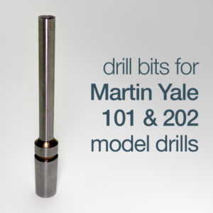 drill bits for Martin Yale model 101 & model 202 drills